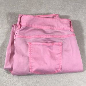 Maurice's Pink Skinny Jean size XL R